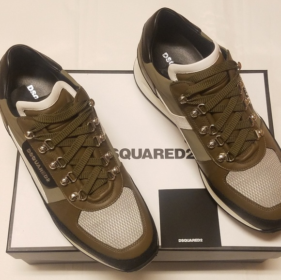 Dsquared2 Dean Goes Hiking Lowtop